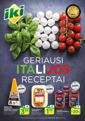 IKI - Geriausi Italijos receptai (2020 05 04 - 2020 05 31)