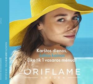 ORIFLAME - Katalogas (2021 08 01 - 2021 08 31)