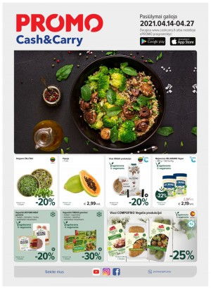 PROMO Cash&Carry (2021 04 14 - 2021 04 27)
