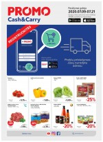 PROMO Cash&Carry (2020 07 09 - 2020 07 21)