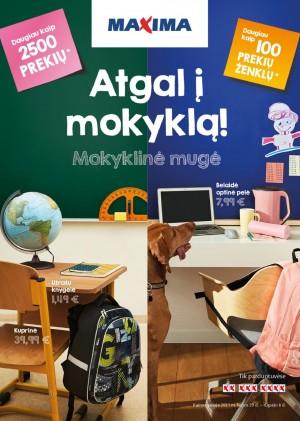 MAXIMA - Atgal į mokyklą! (2021.07.29 - 2021.09.08.)