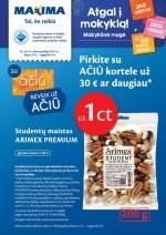 MAXIMA - Kaininis leidinys Nr.30 (2021 07 27 - 2021 08 09)
