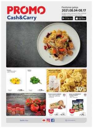 PROMO Cash&Carry (2021 08 04 - 2021 08 17)