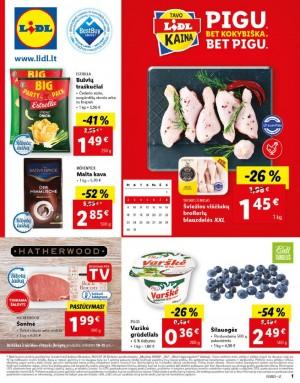 LIDL - Maisto prekių pasiūlymai (2021 08 02 - 2021 08 08)