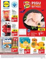 LIDL - Maisto prekių pasiūlymai (2021 10 25 - 2021 10 31)