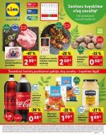 LIDL - Maisto prekių pasiūlymai (2021 06 21 - 2021 06 27)